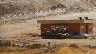 """صورة الحرس الثوري الإيراني ينشر قوات على الحدود مع """"قره باغ"""""""
