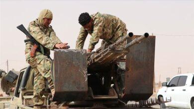 صورة عشرات الجنود الليبين يتدربون في تركيا وفقاً لاتفاقية ثنائية