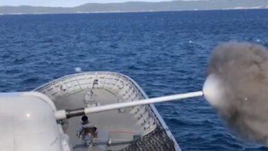صورة تركيا…دقة عالية في التصويب من السفن