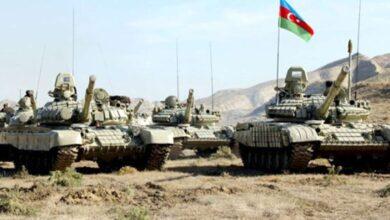 صورة القوات الأذرية على بعد كيلومترات من مدينة شوشة الإستراتيجية في إقليم قره باغ