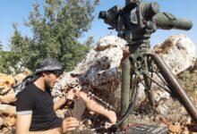 """صورة سهيل الحمود الملقب ب """" أبو التاو"""" والذي يعتبر مرعب دبابات نظام الأسد يتحدث إلى مجلة M5  عربي"""