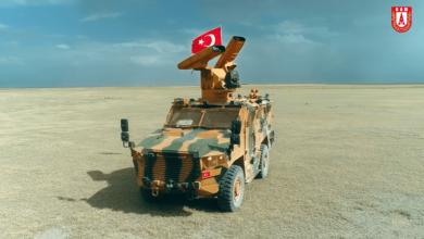 """صورة شاهد: منظومة الدفاع الجوي التركية """"صونغور"""""""