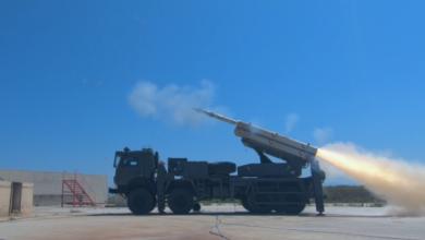 """صورة شاهد : صاروخ """"TRLG-230"""" التركي من انتاج شركة روكيتسان """"Roketsan"""""""
