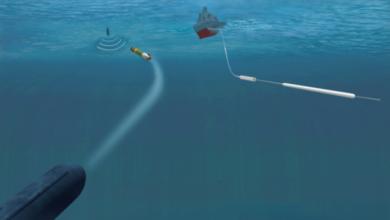 صورة شاهد : نظام حماية السفن الحربية من الطوربيدات HIZIR