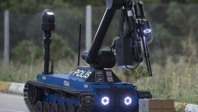 صورة شاهد : الروبوتات الوطنية للتخلص من القنابل KAPLAN و ERTUĞRUL