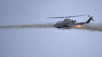 """صورة اتفاق بين كوريا و إسرائيل لتسليح المروحيات بطائرات """"كاميكازي""""بدون طيار"""