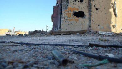 صورة وفد من المراقبين الأممين يصل إلى ليبيا لمراقبة وقف إطلاق النار