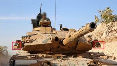 صورة شاهد : نظام التحذير بالليزر للدبابات TLUS