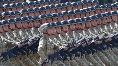 صورة وسط توترات مع واشنطن..الصين تعتزم رفع ميزانيتها العسكرية بنسبة 6.6%