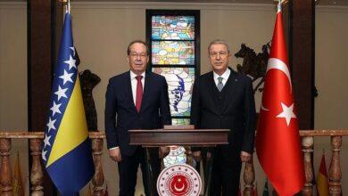 صورة اتفاقية تعاون مالي بين تركيا والبوسنة في المجالات العسكرية