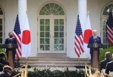 صورة تعهد أمريكي ياباني بمواجهة التمدد الصيني و بكين تندد