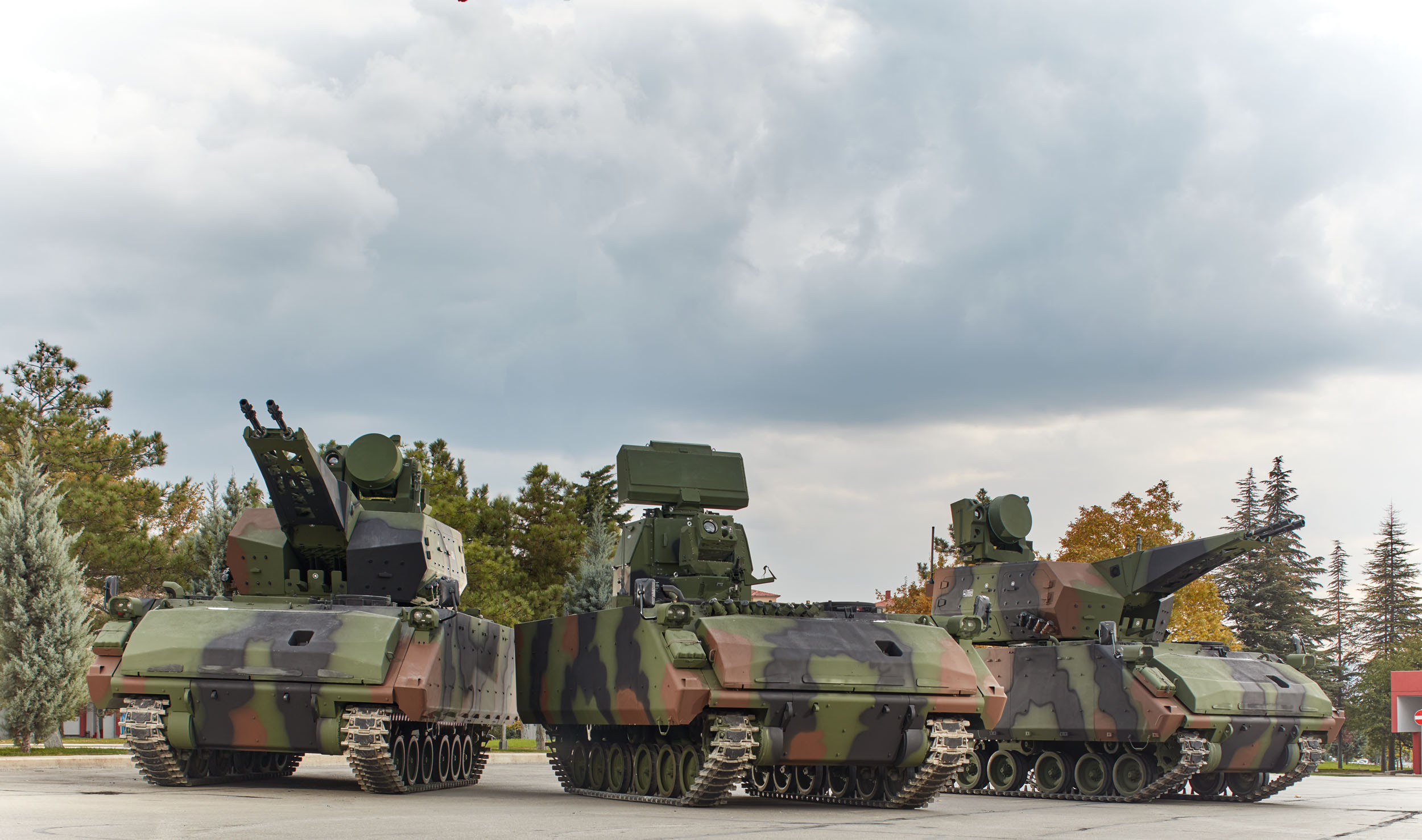 صورة نظام الدفاع الجوي للوحدات المتنقلة KORKUT
