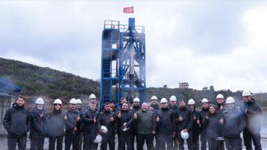 صورة تركيا تنجح باختبار محرك صاروخ سيستخدم بإطلاق مركبة إلى القمر