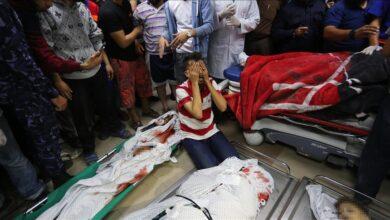 صورة المقاتلات الإسرائيلية تشن سلسلة غارات على قطاع غزة 