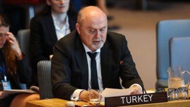 """صورة تركيا: صمت مجلس الامن على الاعتداءات الإسرائيلية"""" لا يمكن قبوله"""""""