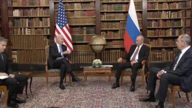 صورة انطلاق أعمال القمة بين بايدن و بوتين في جنيف