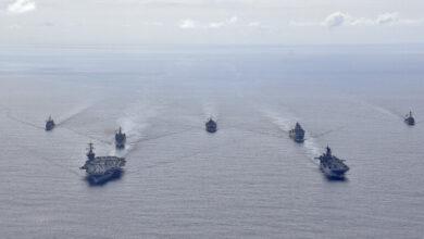 """صورة """"بوليتيكو"""": البنتاغون يدرس نشر مجموعة بحرية دائمة في المحيط الهادئ في تحد للصين"""