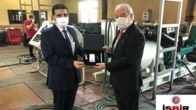 صورة نجاح اختبارات مولدات شركة İŞBİRالتركية التي ستستخدم في سفن إنزال قطرية