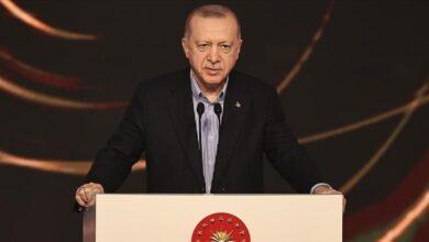 صورة أردوغان: لنجعل الطاقة شرقي المتوسط محور تعاون لا صراع