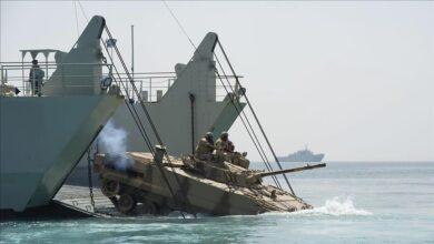 """صورة """"البحرية"""" الأمريكية : المغرب يشارك بمناورات تضم إسرائيل """