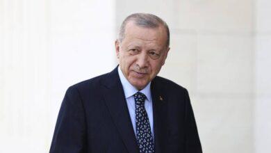 صورة أردوغان والمنفي يبحثان التطورات في تونس