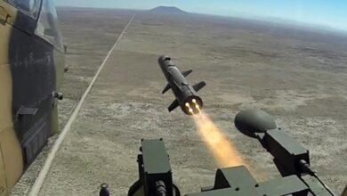 صورة شاهد: الصواريخ التركية طويلة المدى المضادة للدبابات UMTAS و L-UMTAS