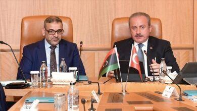 صورة شنطوب و المشري يؤكدان أهمية إجراء الانتخابات الليبية بموعدها 