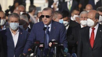 صورة أردوغان: ندرس إمكانية تشغيل مطار كابل حال تلبية شروطنا 