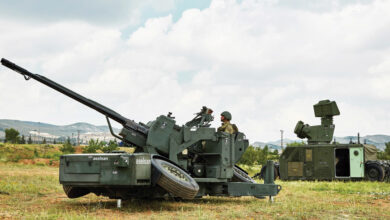 صورة شاهد: أنظمة الدفاع الجوي للمنشآت الحساسة عيار 35 ملم