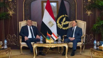 """صورة مصر وليبيا تبحثان تطوير""""شراكة أمنية"""" تشمل تدريب كوادر ليبية"""