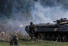 """صورة مناورة بمشاركة قوات من""""الناتو"""" غرب أوكرانيا"""
