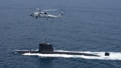 """صورة كوريا الشمالية تحذر من """"سباق تسلح نووي"""" بسبب صفقة الغواصات بين أستراليا والولايات المتحدة"""