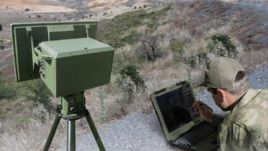 صورة شاهد : رادار مراقبة الأراضي ACAR-K