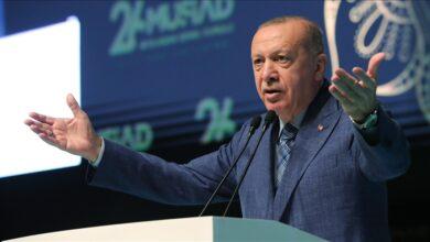 صورة أردوغان: تركيا قطعت أشواطا في الصناعات الدفاعية و باتت صاحبة كلمة في قضايا المنطقة 