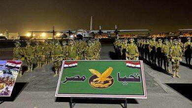 صورة مناورة مصرية سودانية تشمل مهام تأمين الحدود