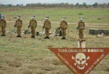 """صورة الجيش التركي يواصل دعم أذربيجان في إزالة ألغام """"قره باغ"""""""