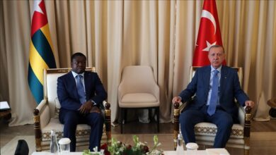 صورة أردوغان: جاهزون للتعاون الأمني و العسكري ضد الإرهاب بإفريقيا