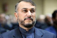 """صورة وزير الخارجية الإيراني يبحث مع نظيره """"الاتفاق النووي"""""""