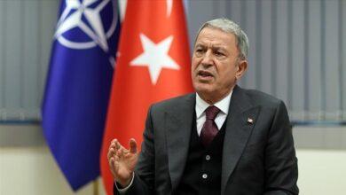 صورة أكار: تركيا ستقوم بما يلزم ضد الإرهاب شمالي سوريا